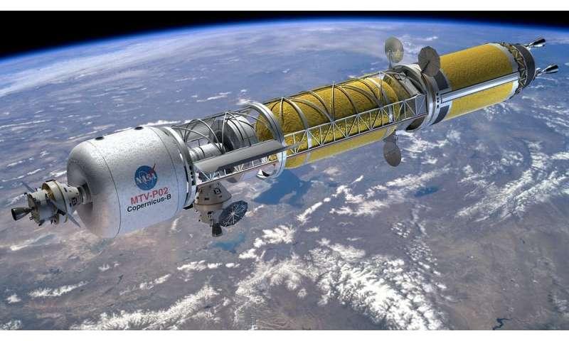 космический корабль применяются как корпоративная HQ