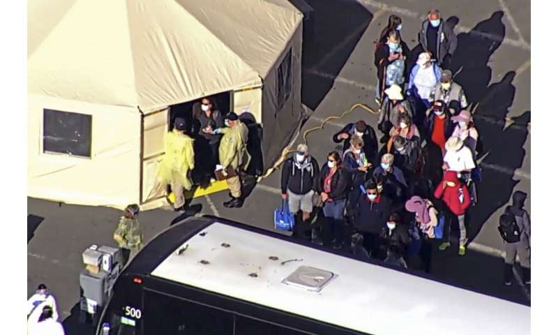 Two deaths tied to California cruise ship, with few tested