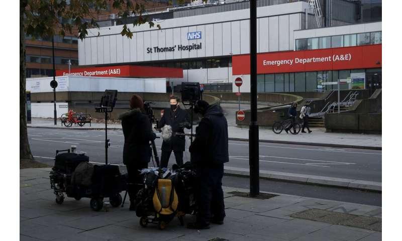 UK readies for 'V-Day,' its 1st shots in war on coronavirus
