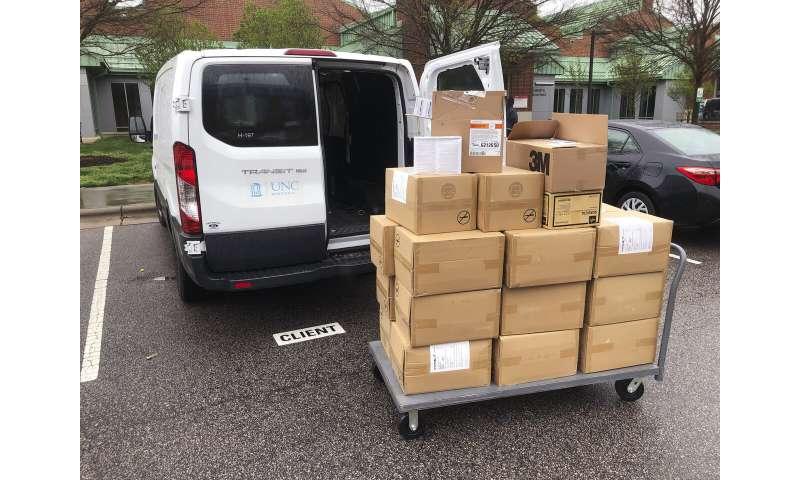 Veterinarians donate vital supplies to coronavirus fight