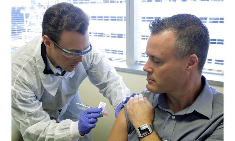 Volunteers fight virus by testing new experimental vaccine