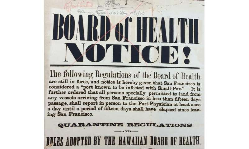 Why quarantines are so difficult to implement: Lessons from the 1800s