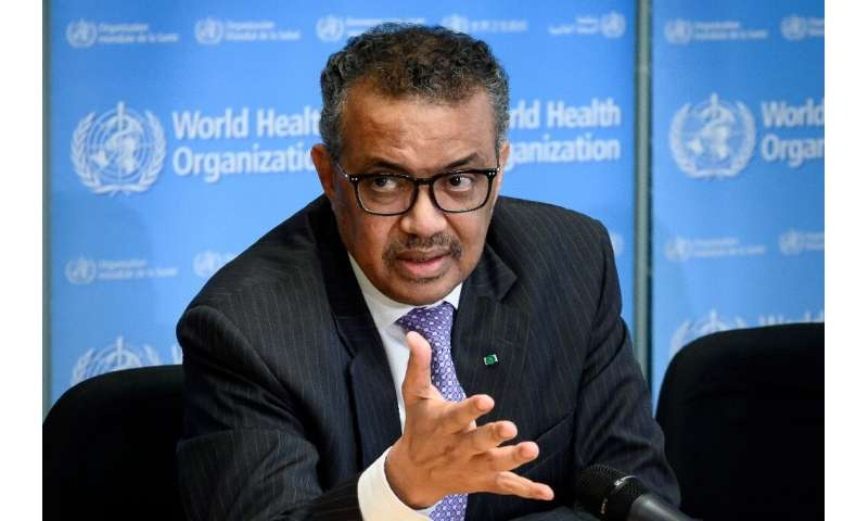 World Health Organization (WHO) Director-General Tedros Adhanom Ghebreyesus (pictured March 2020) said investing now would save