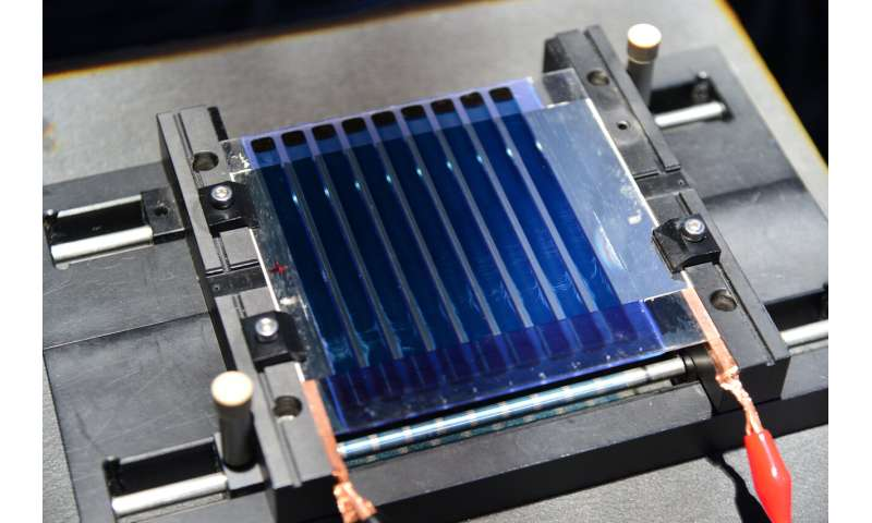 Development of photovoltaics that can be applied like paint for real-life application