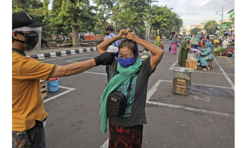 Indonesian capital's reopening triggers concerns of 2nd wave
