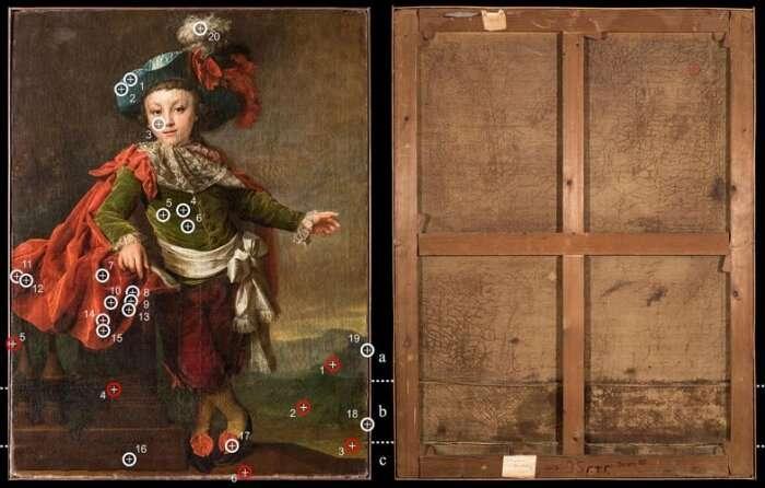 Study reveals secret of 18th-century portrait