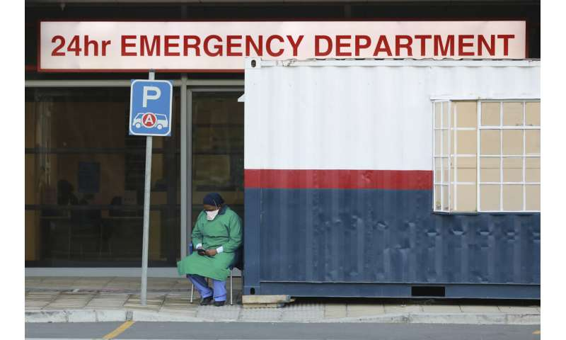 South Africa's surge of virus cases expected to rise rapidly
