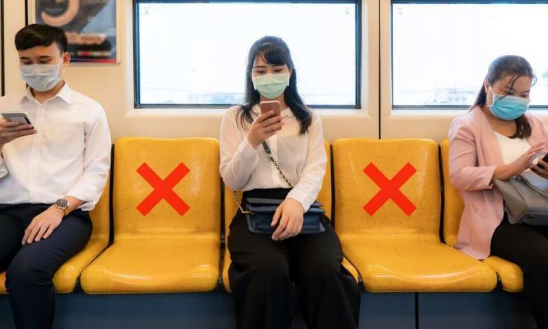 Social distancing is making public transport worse for the environment than cars – here's how to fix it
