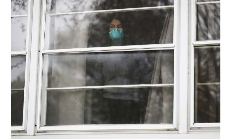 Coronavirus complicates safety for families living together
