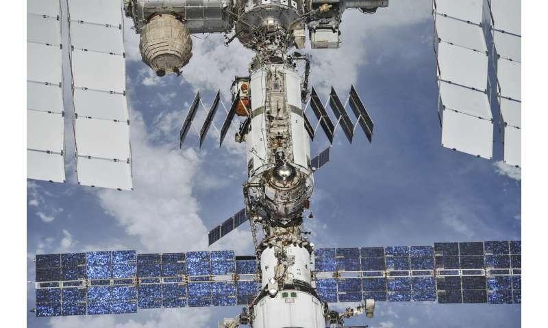 Space station marking 20 years of people living in orbit
