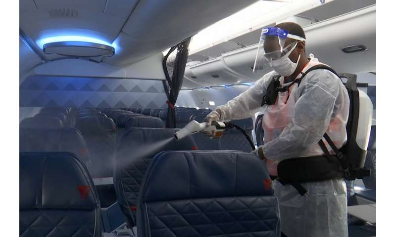 Virus pandemic reshaping air travel as carriers struggle