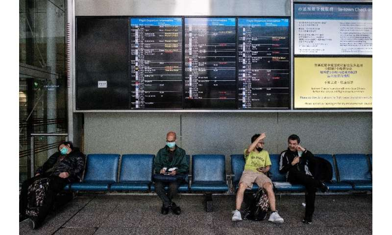 The coronavirus has all but obliterated international travel