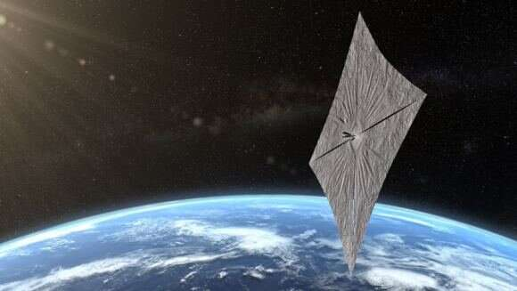 A cool idea to catch up with an interstellar visitor