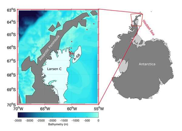 Antarctic ice shelves: research reveals a missing piece of the climate puzzle