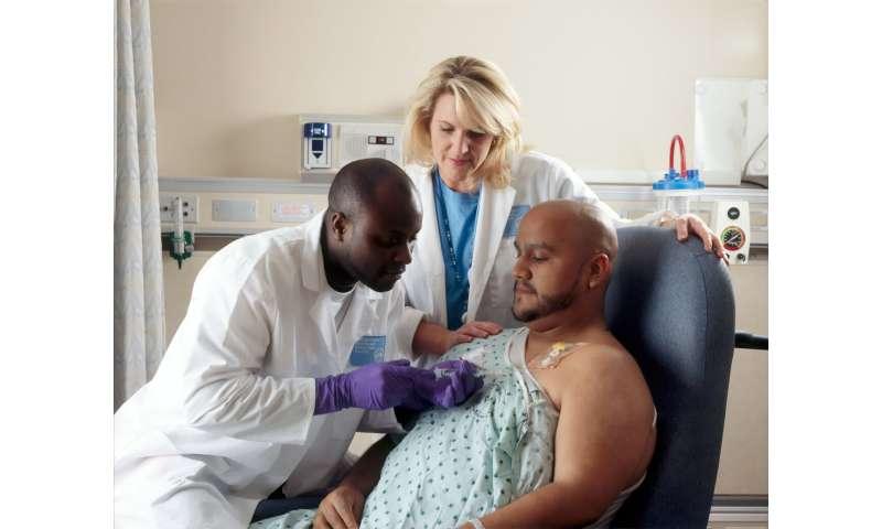 black patient