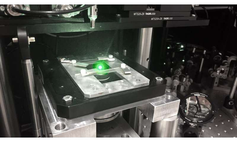 Diamonds shine a light on hidden currents in graphene