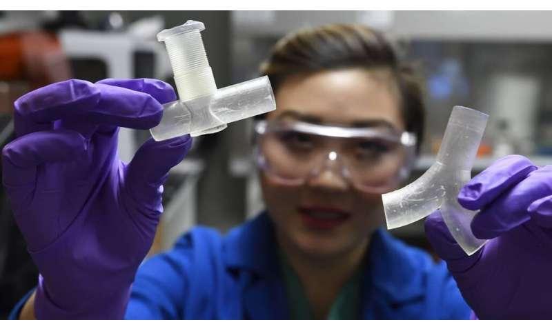 Engineers develop 3-D-printed ventilator splitters