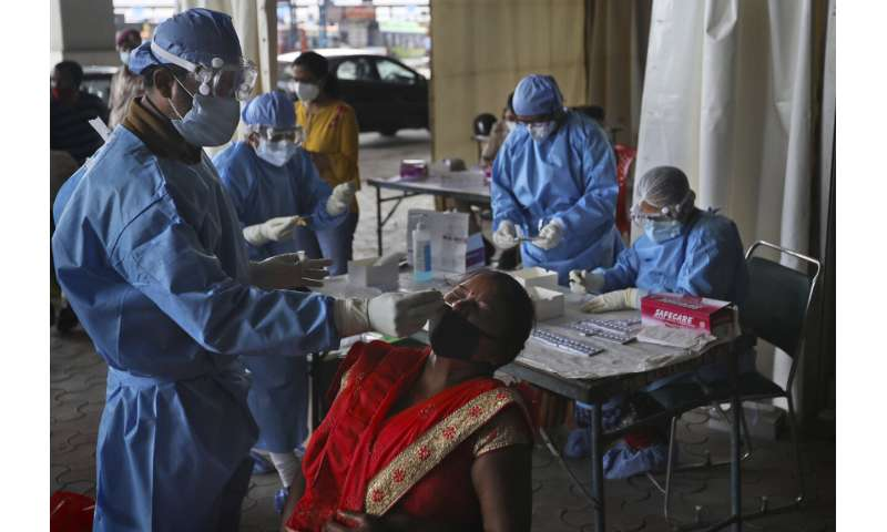 Experts flag risks in India's use of rapid tests for virus