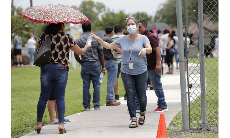 Florida migrant towns become coronavirus hot spots in US