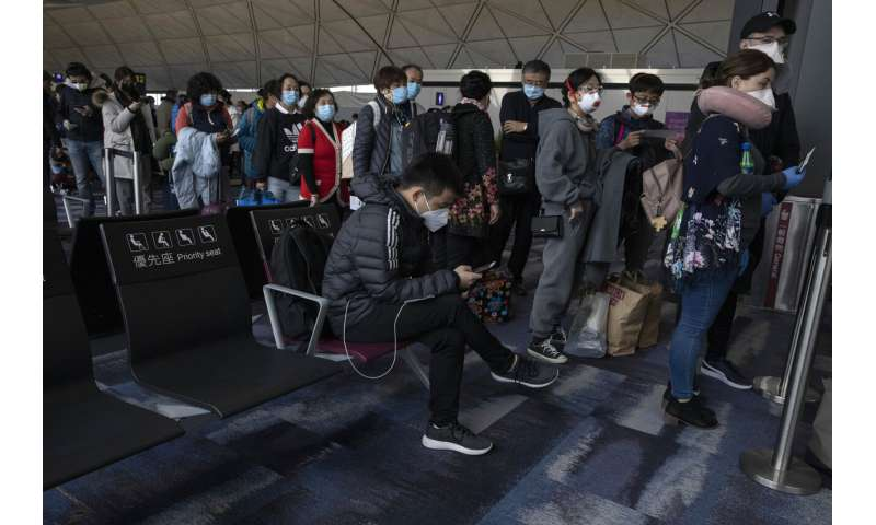 Health  officials trace British patient travels in outbreak