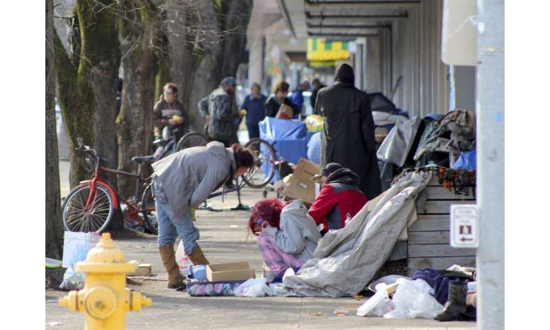 Homeless at 'double risk' of getting, spreading coronavirus