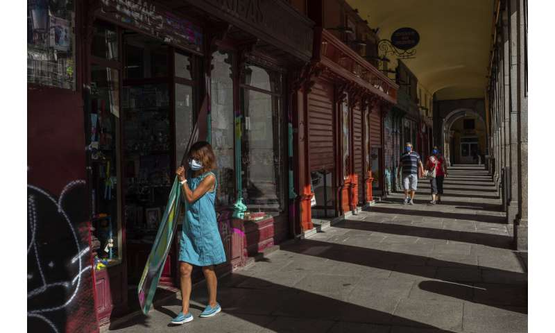 Madrid struggles with Europe's acutest 2nd wave of pandemic