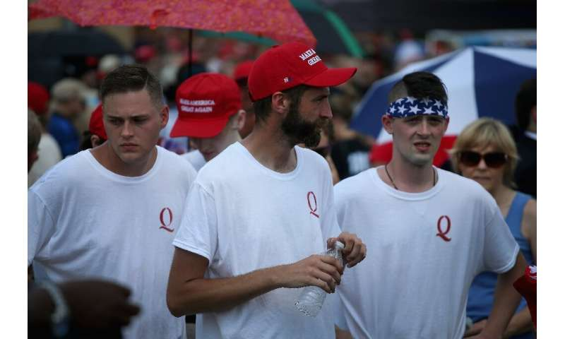 Members of the right-wing QAnon movement are convinced that there is a secret plot against President Donald Trump—without any cr