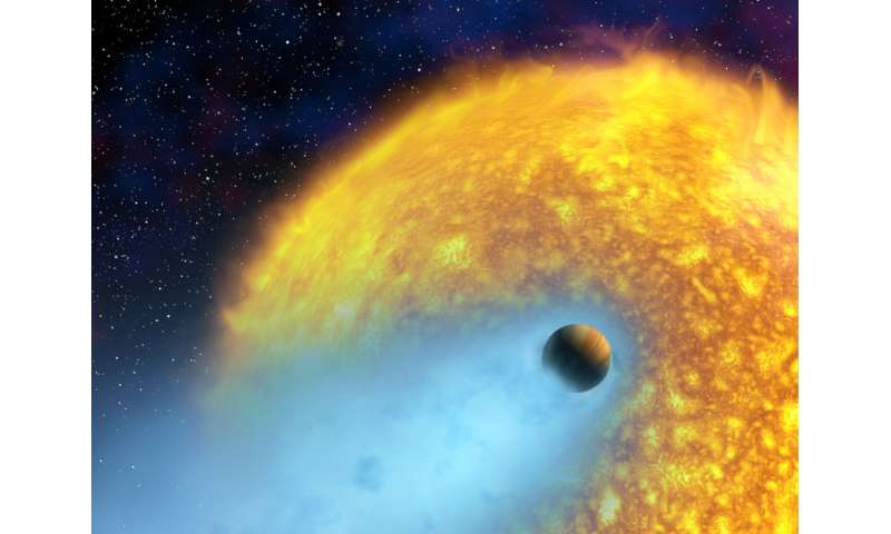 NYUAD study finds stellar flares can lead to the diminishment of a planet's habitability