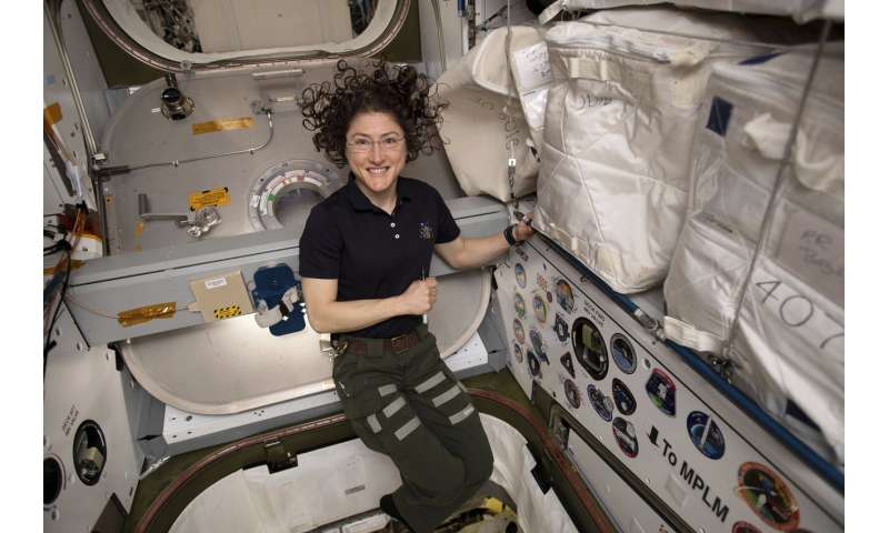 Record-setting astronaut feels good after near year in space