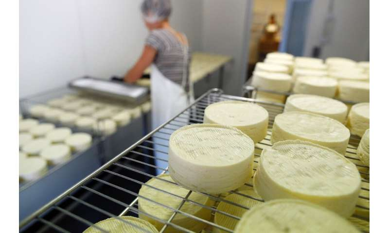 The US has threatened to impose ruinous duties on French imports of such emblematic goods as Champagne and Camembert cheese in t