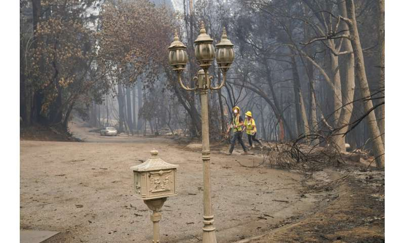 Weather, reinforcements helping in California wildfire fight