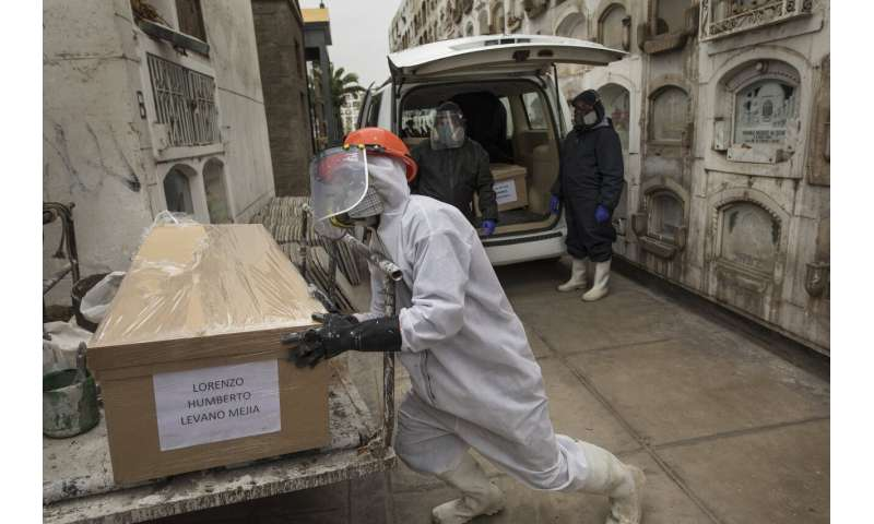 WHO warns that 1st wave of pandemic not over, dampens hopes