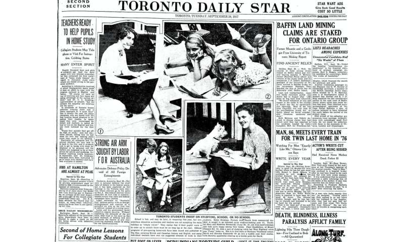 Coronavirus lessons from when the 1937 polio epidemic delayed school reopenings
