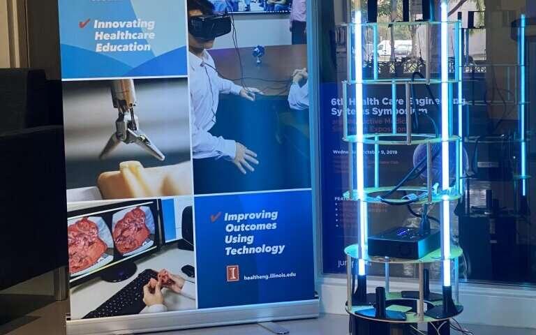 دانشگاه Illinois Urbana-Champaign یک ربات خودمختار برای کشتن COVID-19 تولید می کند