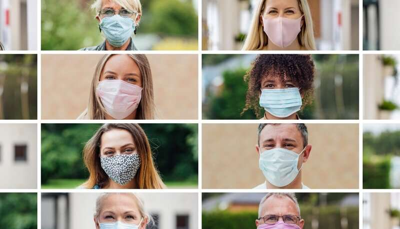 New study reveals impact of face masks on person identification