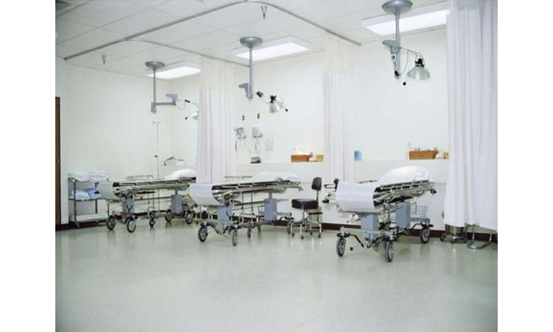 36 percent of available hospital beds unoccupied on typical day