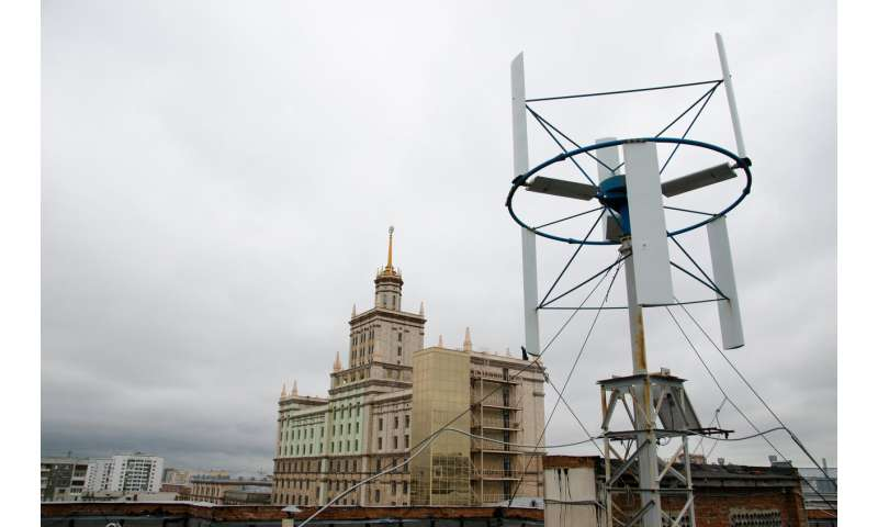 Russian Scientists Develop a of a Hybrid Wind-Hydrogen Energy Complex for the Arctic
