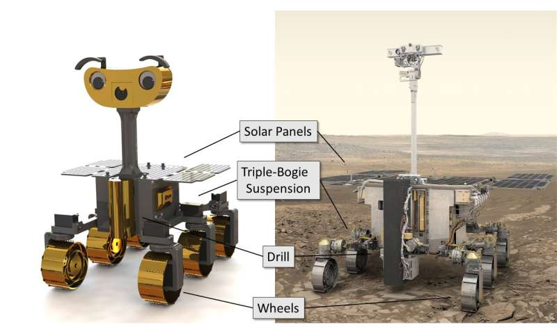 3D print your own Mars rover with ExoMy
