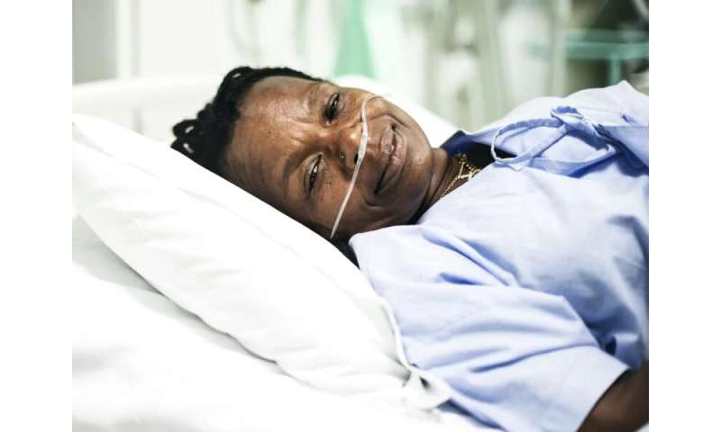 African-americans more likely to be hospitalized with COVID-19