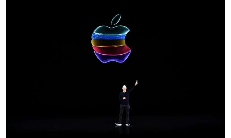 Apple CEO Tim Cook, seen here at a September 2019 product launch, has steered the tech giant for nine years, bringing it to the