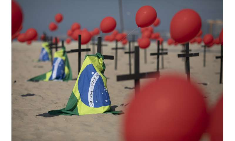 Brazil makes grim milestone -- 100,000 deaths from COVID-19