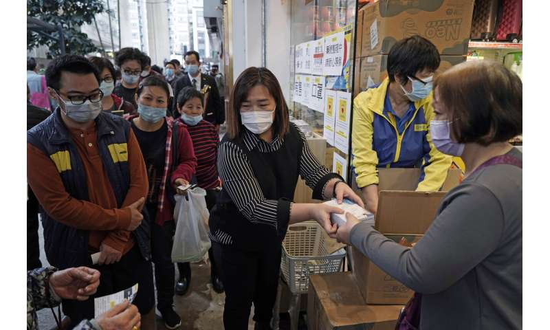 Coronavirus fear touches off a global run on face masks
