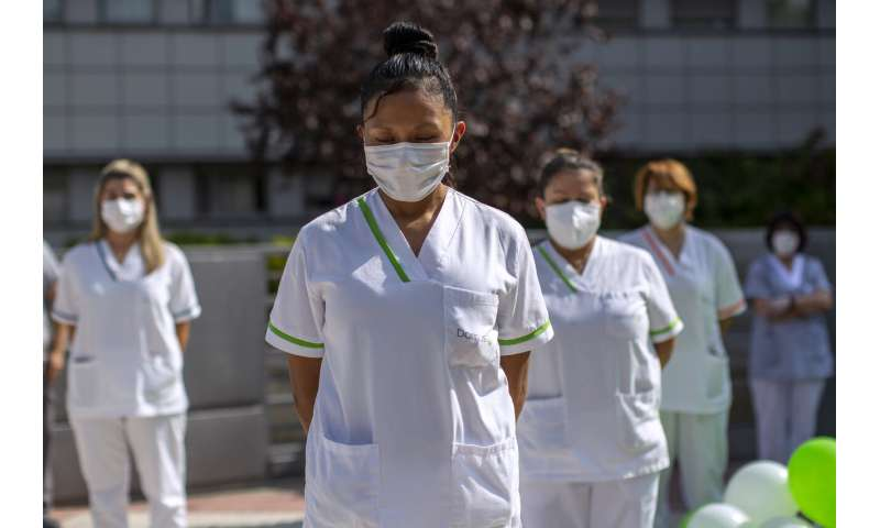 Doctors in hard-hit Madrid: 'It's like March in slow motion'