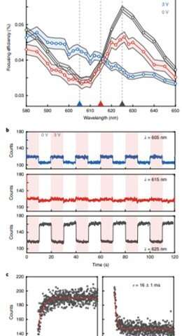 Exciton resonance tuning of an atomically thin lens