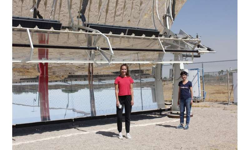 Harnessing the sun to purify concentrated waste streams
