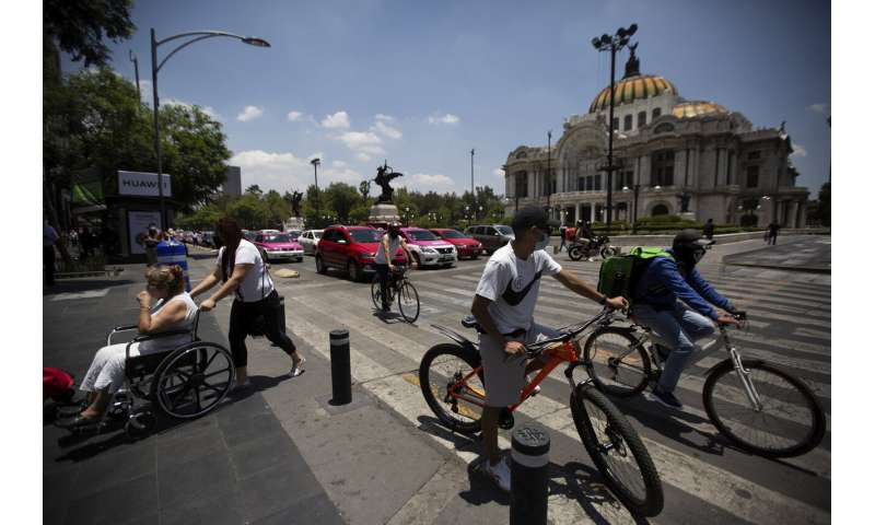 Mexico reverses some openings as virus cases continue high