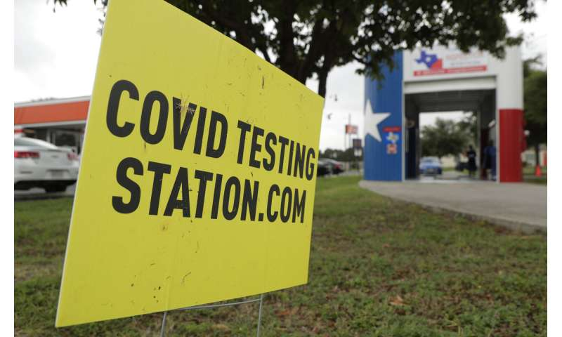 Months into crisis, Americans face frustrating test delays