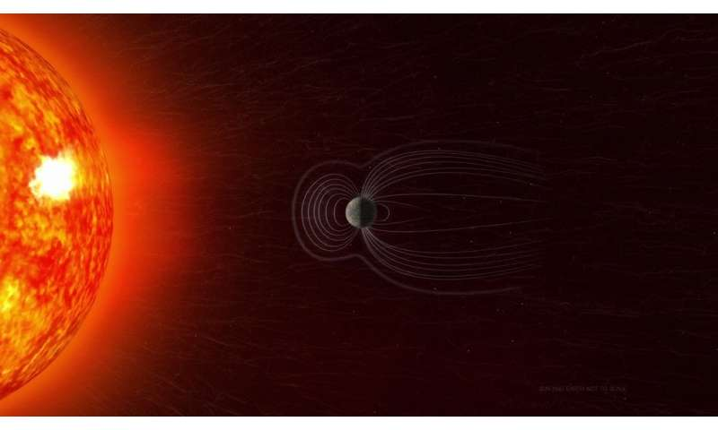 NASA researchers track slowly splitting 'dent' in Earth's magnetic field