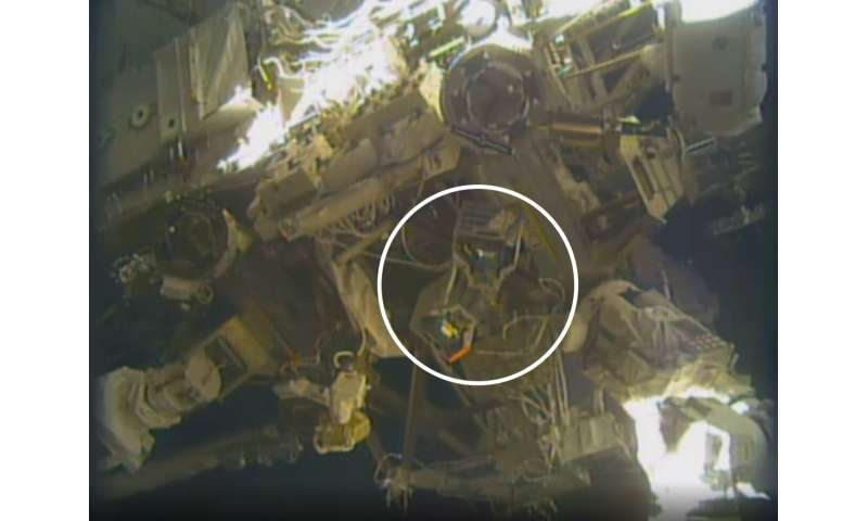 NASA's 'robot hotel' gets its occupants