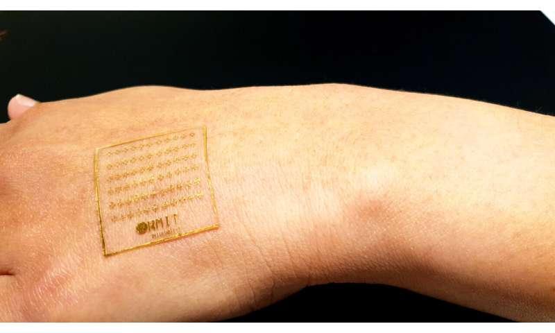 New electronic skin can react to pain like human skin
